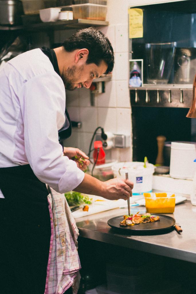 portrait lifestyle chef de cuisine